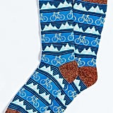 Mountain Bike Icon Socks