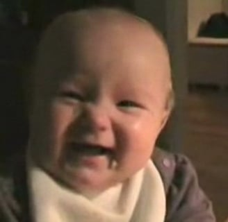 Slow Motion Baby Laugh