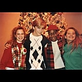 "Andrea: ""TGIF, people. Hollywood Xmas Parade, 1991.@candacecbure @jaleelwhite"""