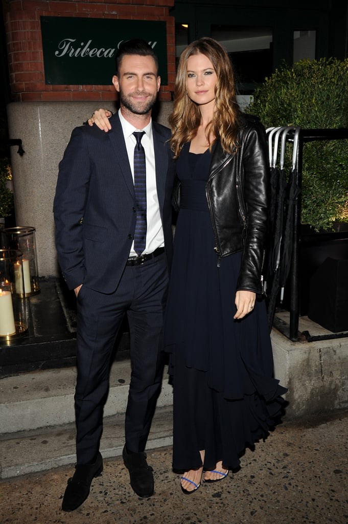 At a Chanel Dinner