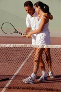 Tips for Novice Tennis Players