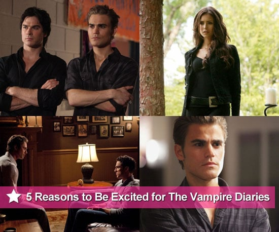 Five reasons to be excited because The Vampire Diaries Season 2 starts tonight on GO!