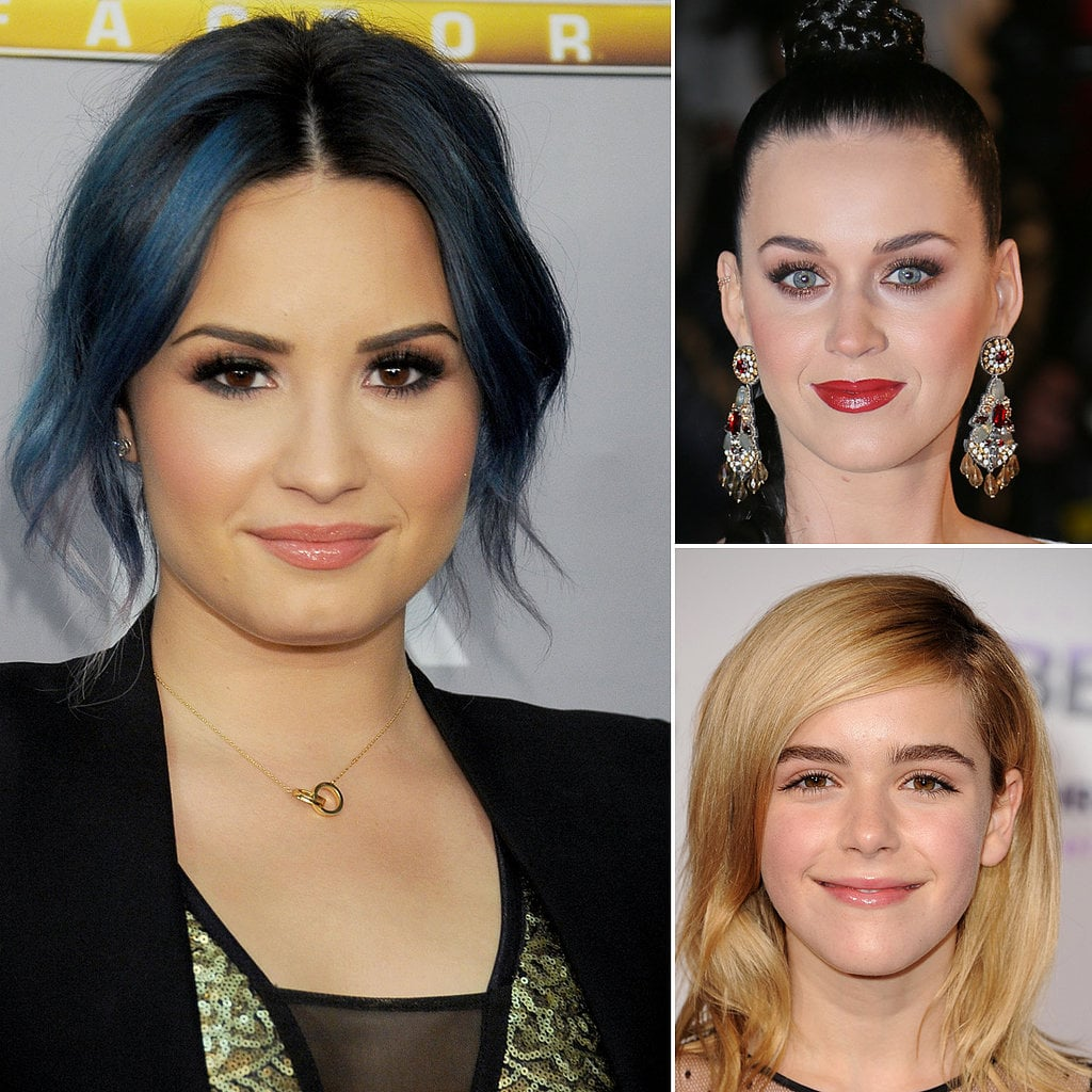 Demi Lovato's brows took top billing in this poll, beating out Katy Perry's and Kiernan Shipka's.