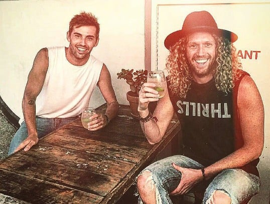 Pictures of Tim Dormer and Boyfriend Ash Toweel