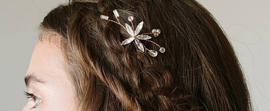 Johnny Weir's Hair Brooch at the Olympics Closing Ceremony