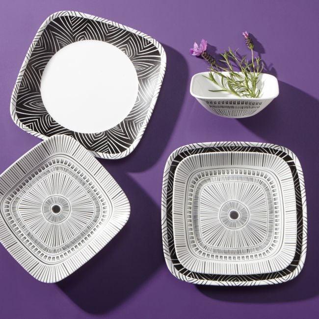 Corelle® Style Imani Square 18-Piece Dinnerware Set