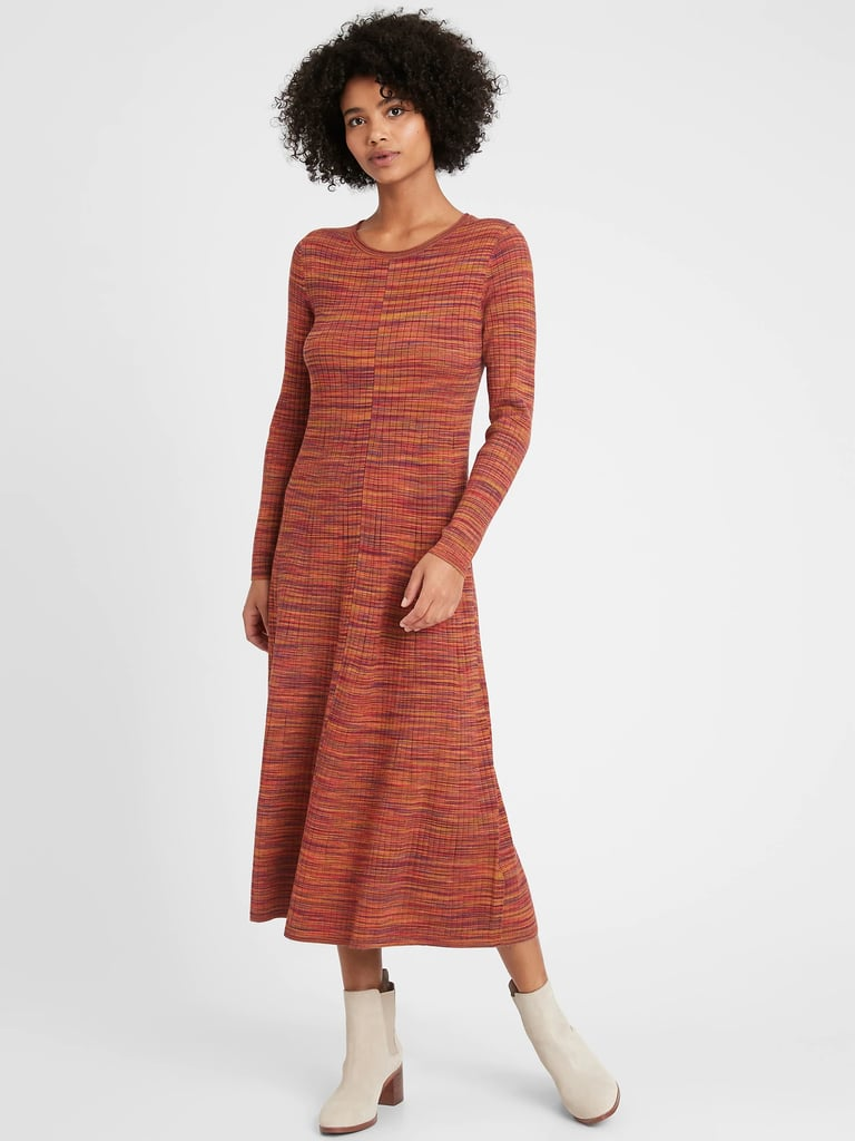 The Best Fall Dresses at Banana Republic