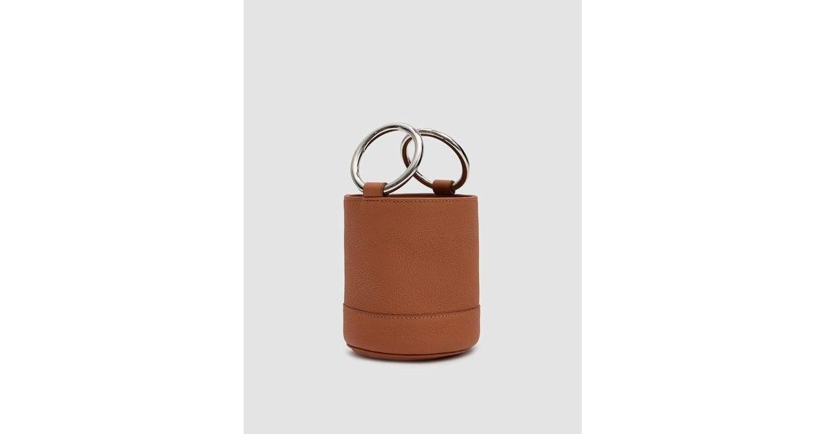 Simon Miller Bonsai Bag In Tan Pebbled Leather Kourtney Kardashian Mini Louis Vuitton Bag Popsugar Fashion Australia Photo 11