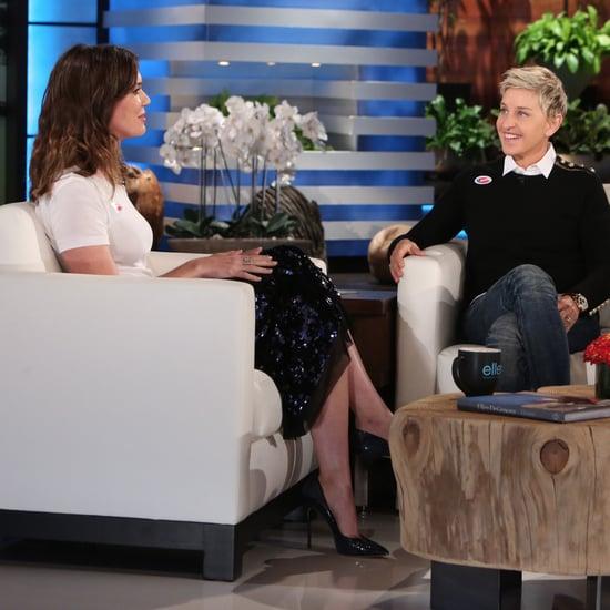ماندي مور تتحدث عن قططها في برنامج إلين 2016
