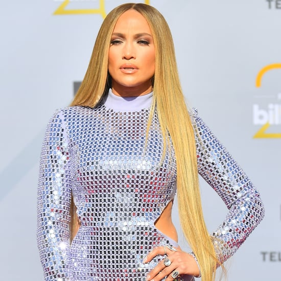 Jennifer Lopez Gets 50-Inch Long Extensions