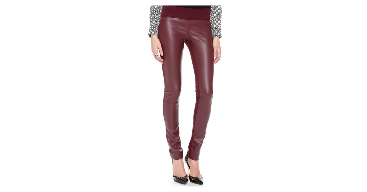 6fbaf7674e181b Club Monaco Burgundy Tasha Faux Leather Leggings | Best Clothing and  Accessories Sales Feb. 13, 2014 | POPSUGAR Fashion Photo 8