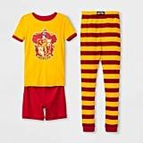 Boys' Harry Potter Gryffindor 3-Piece Pajama Set