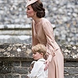 Kate Middleton Alexander McQueen Dress at Pippa's Wedding