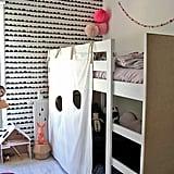DIY Bunk-Bed Fort