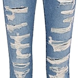Current/Elliott The Fling distressed mid-rise boyfriend jeans ($270)