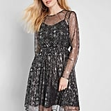 Dazzle Do It Long-Sleeved Dress