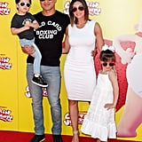 Mario Lopez and His Kids in Matching Outfits May 2017