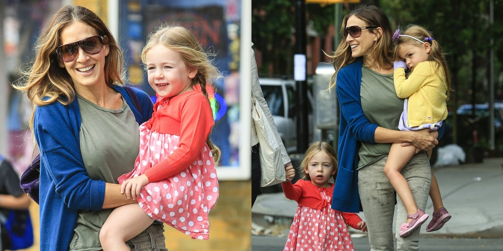 Sarah Jessica Parker Carrying Her Twins in NYC