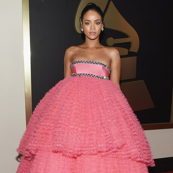 Rihanna's Dress at the 2015 Grammy Awards