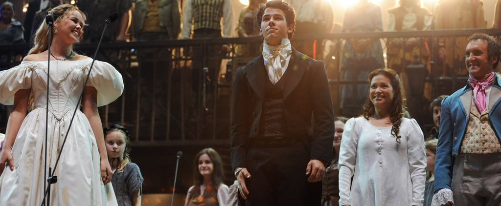 Nick Jonas in Les Miserables Videos