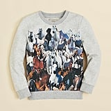 Stella McCartney Horse Print Sweatshirt