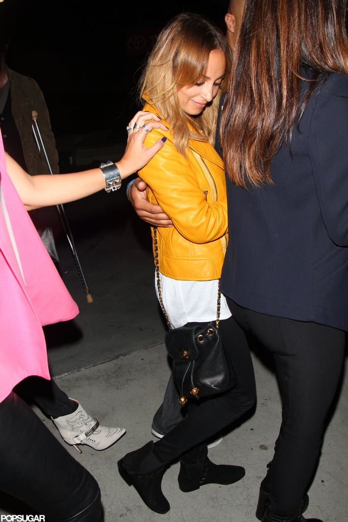 Nicole Richie joined her friends out in LA.