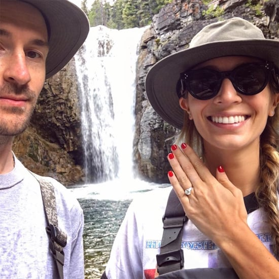 Harley Viera-Newton's Engagement Ring