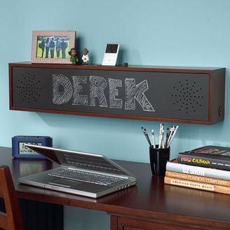Chalkboard Speaker Shelf