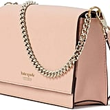 Kate Spade New York Leather Cameron Convertible Crossbody Handbag Clutch