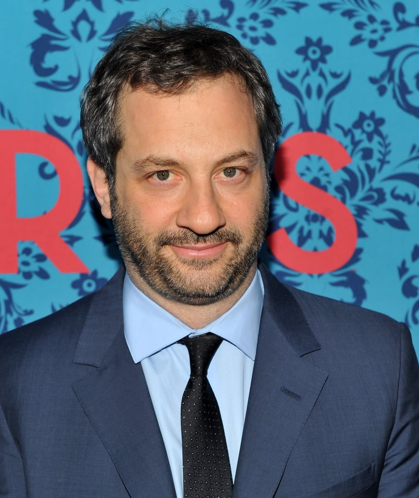 Producer Judd Apatow attended the premiere of HBO's Girls in NYC.