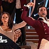 Juan Pablo di Pace and Cheryl Burke's Performance
