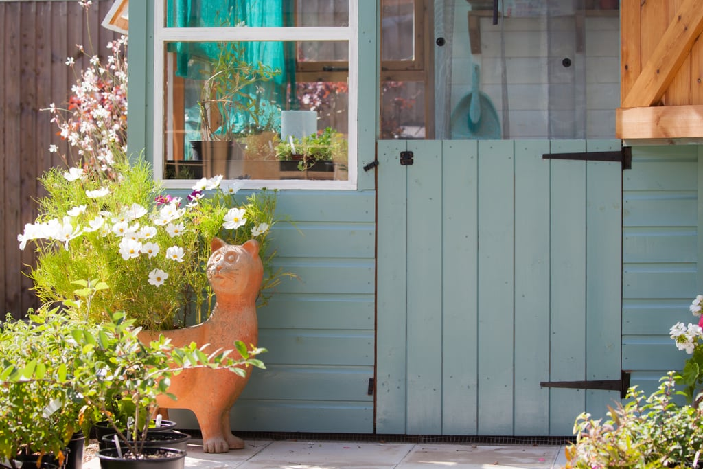 4. Transform Your Shed Into a She-Shed