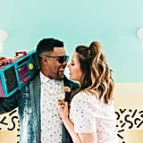 Retro '80s and '90s Engagement Shoot