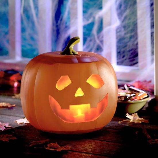 Sound-Activated Pumpkin Decorations