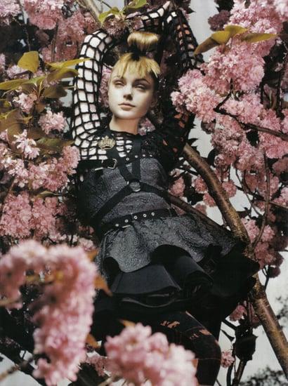 Jessica Stam does Vogue Italia november 08