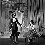 Elizabeth was the Prince Charming to Margaret's Cinderella during a royal performance at Windsor Castle in 1941.
