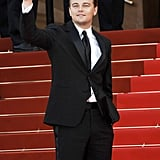 Leonardo DiCaprio waved during the No Country For Old Men premiere in 2007.
