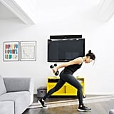 Physically Designate a Workout Space at Home