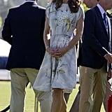 Kate Middleton on polo fields in Santa Barbara.