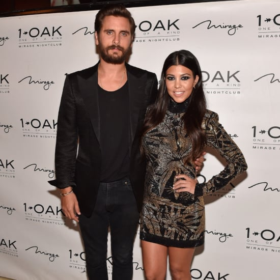 Scott Disick Posts Naked Photo of Kourtney Kardashian