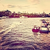 Take a Boat Ride on the Thames
