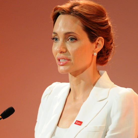 Angelina Jolie at Sexual Violence Summit in London | Video