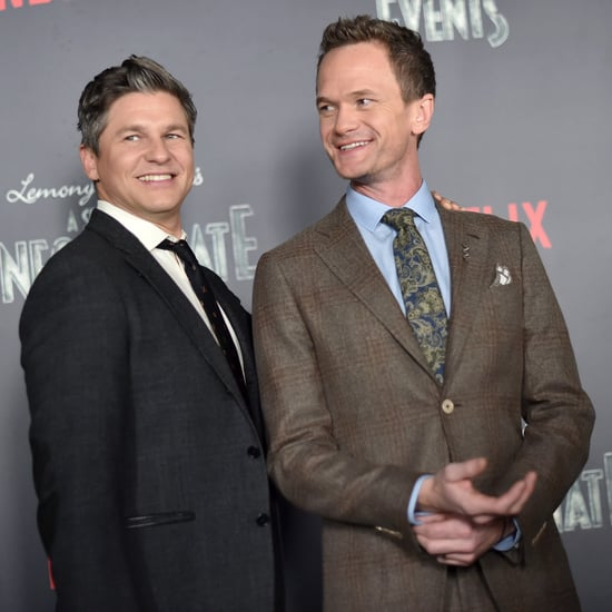 Neil Patrick Harris and David Burtka on Red Carpet Jan. 2017