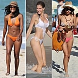 In need of a warm weather getaway? Scope out these celeb-inspired beachy fashion options and take a sunny vacation now.