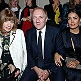Francois Henri Pinault and Salma Hayek