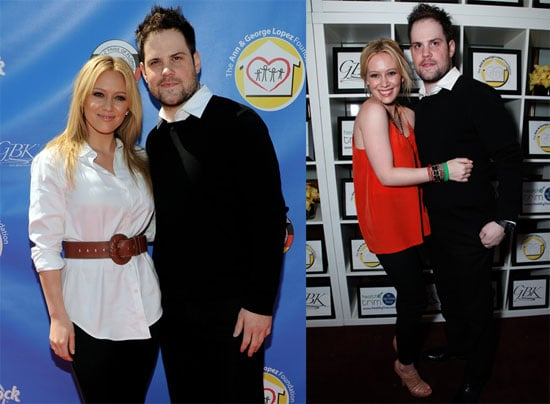 Pictures of Hilary Duff and Mike Comrie at the George Lopez Golf Classic