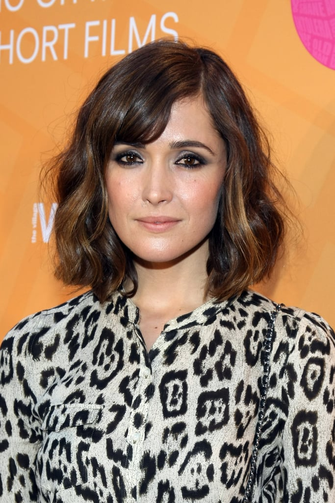pictures of rose byrnes hair and makeup looks popsugar