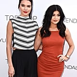Kendall and Kylie Jenner at Topshop Collection Launch