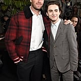 20 Times Armie Hammer and Timothée Chalamet's Friendship Was Too Pure For This World