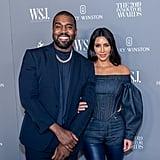 Kim Kardashian and Kanye West at the WSJ Mag 2019 Innovator Awards